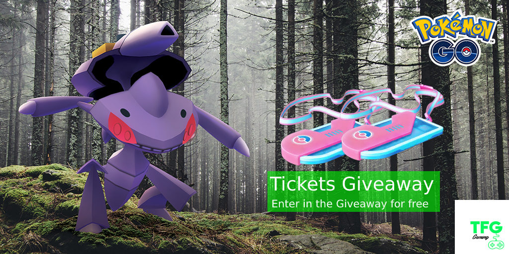 Genesect Special Research Tickets Giveaway - A Drive to Investigate tfggaming